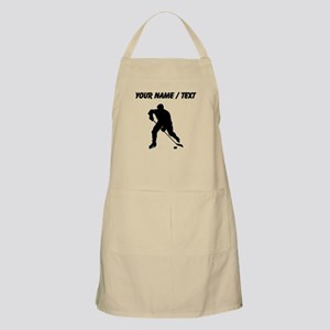 Custom Hockey Player Silhouette Apron